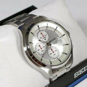 Steel Seiko Sports Precision Men's 42mm Watch